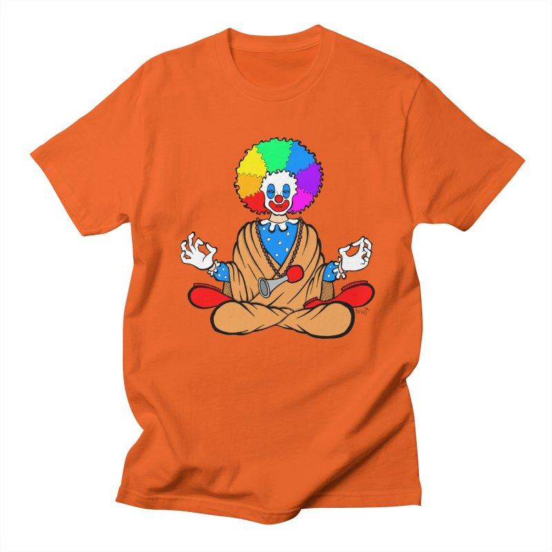 Zen Clown Men's T-Shirt by brettgilbert's Artist Shop