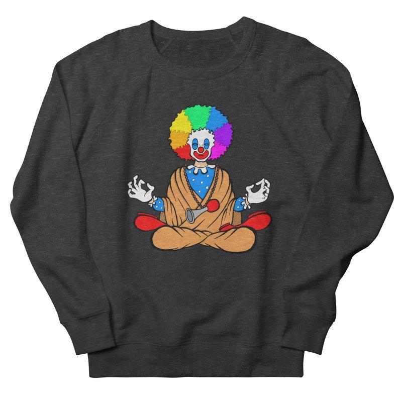 Zen Clown Women's French Terry Sweatshirt by brettgilbert's Artist Shop