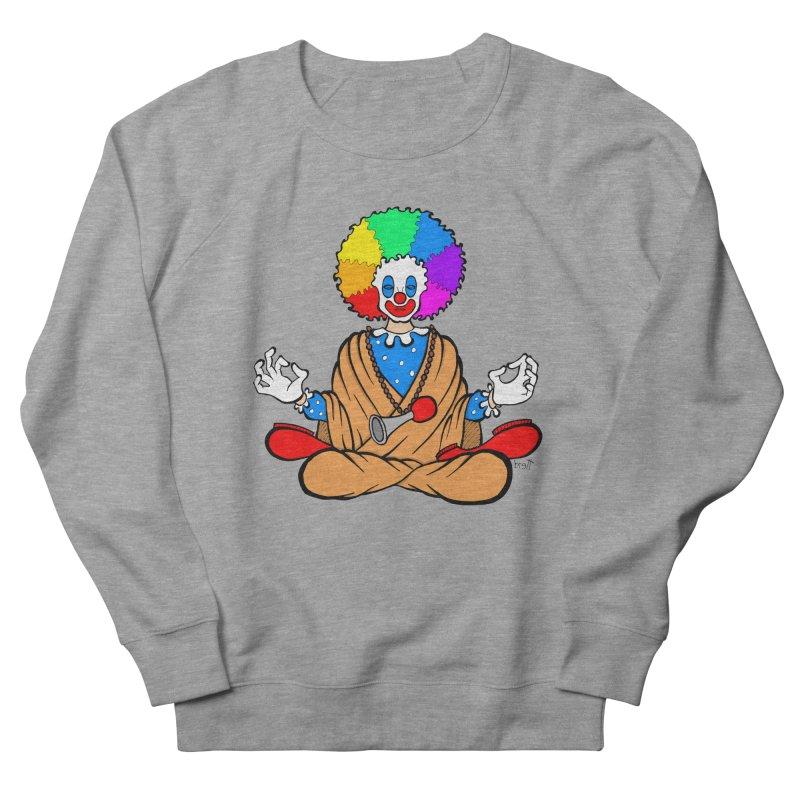 Zen Clown Women's Sweatshirt by brettgilbert's Artist Shop