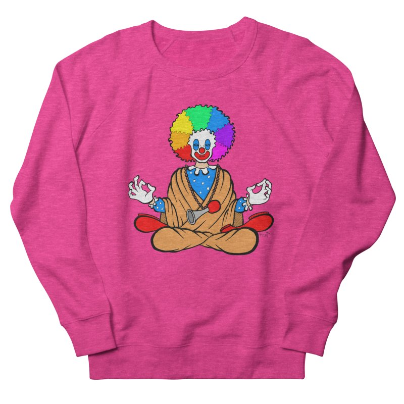 Zen Clown Women's Sweatshirt by brettgilbert's Artist Shop