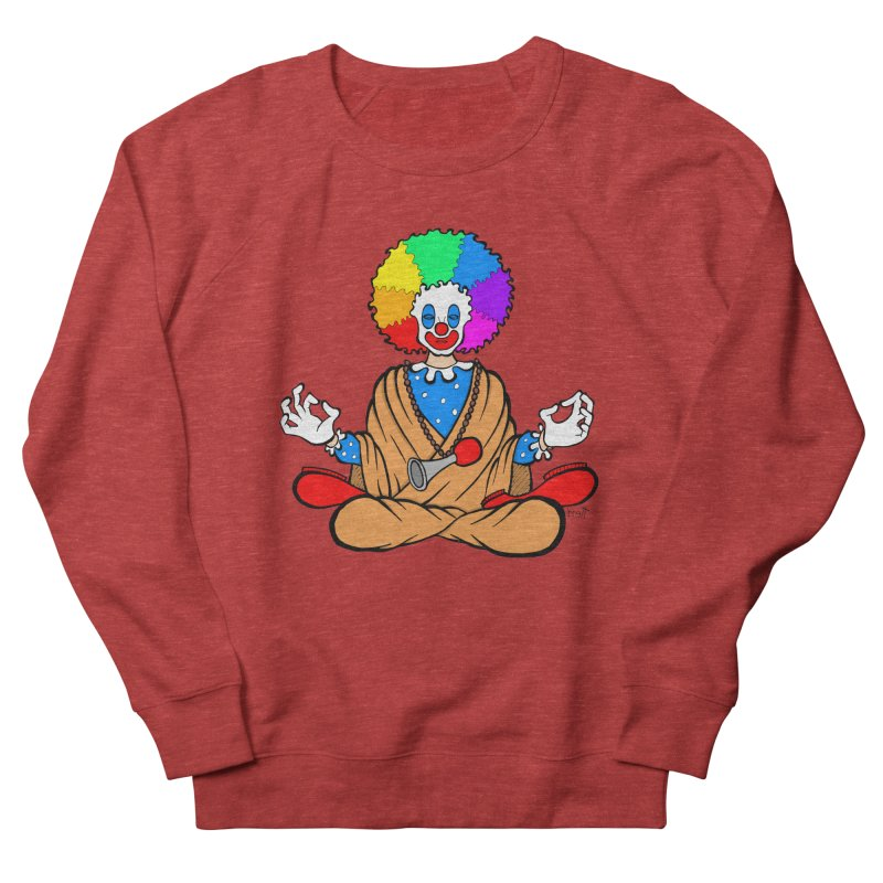 Zen Clown Men's Sweatshirt by brettgilbert's Artist Shop