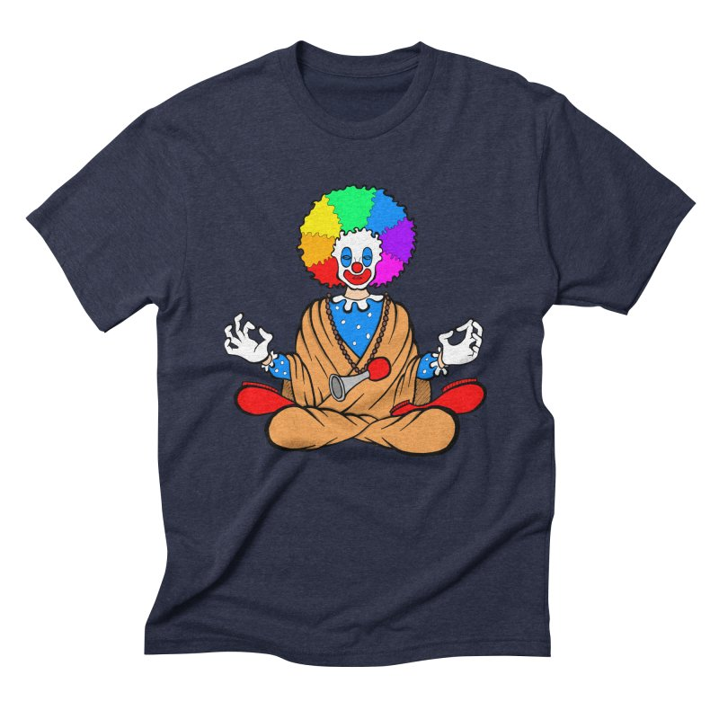 Zen Clown Men's Triblend T-Shirt by brettgilbert's Artist Shop