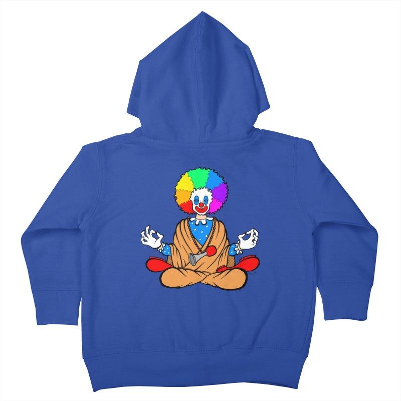 Zen Clown Kids Toddler Zip-Up Hoody by brettgilbert's Artist Shop