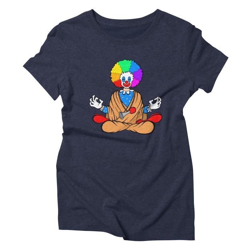 Zen Clown Women's Triblend T-Shirt by brettgilbert's Artist Shop