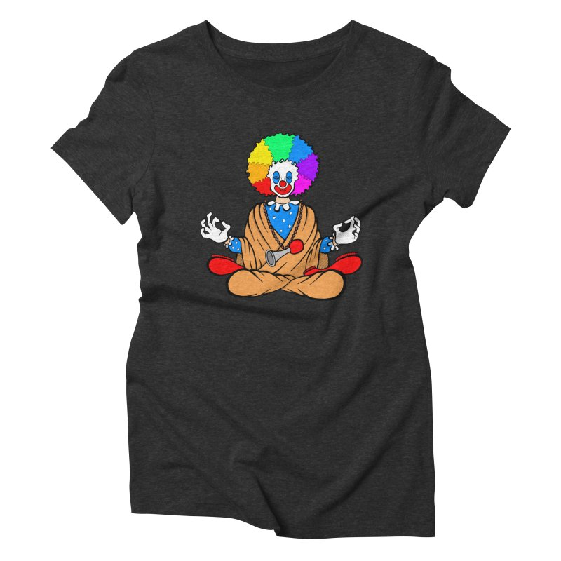 Zen Clown Women's Triblend T-Shirt by brettgilbert's Artist Shop