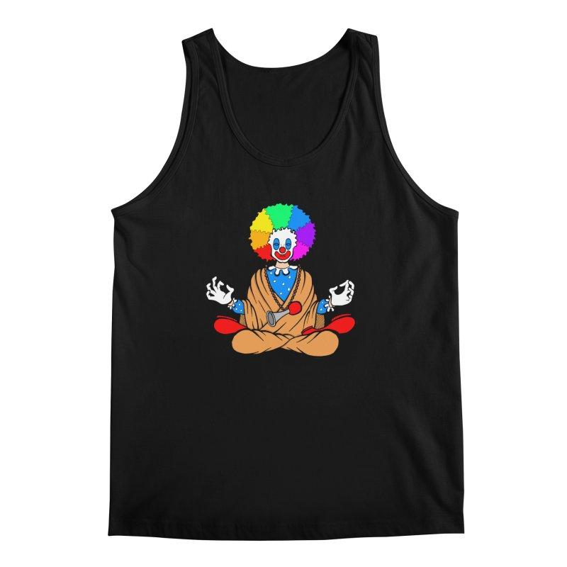 Zen Clown Men's Regular Tank by brettgilbert's Artist Shop
