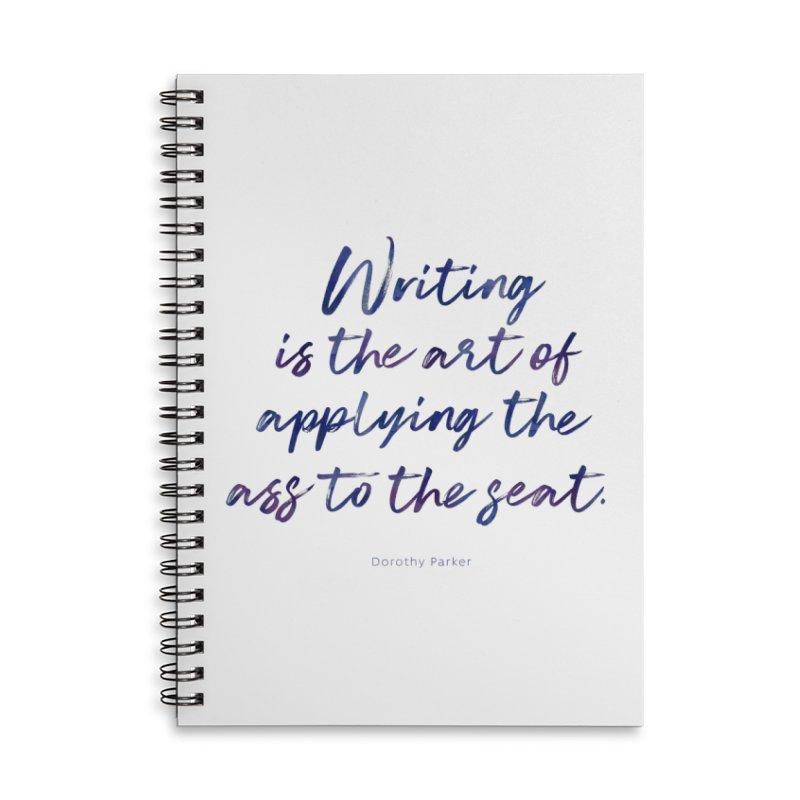 The Art Of Writing Accessories Notebook by Brett Jordan's Artist Shop