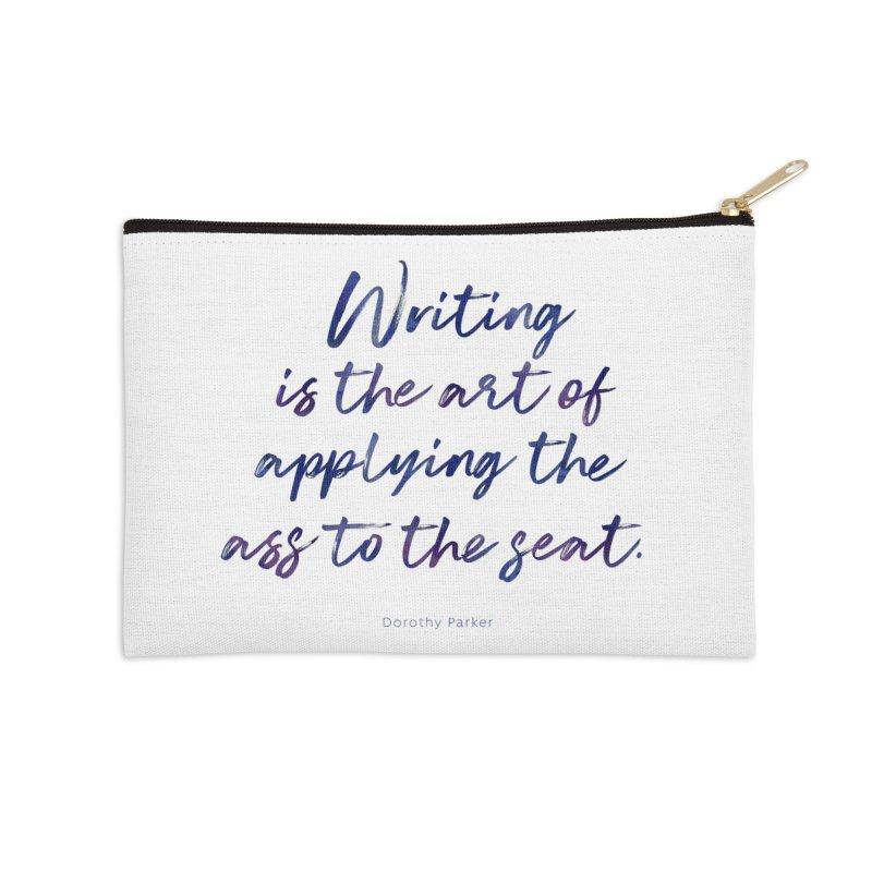The Art Of Writing Accessories Zip Pouch by Brett Jordan's Artist Shop
