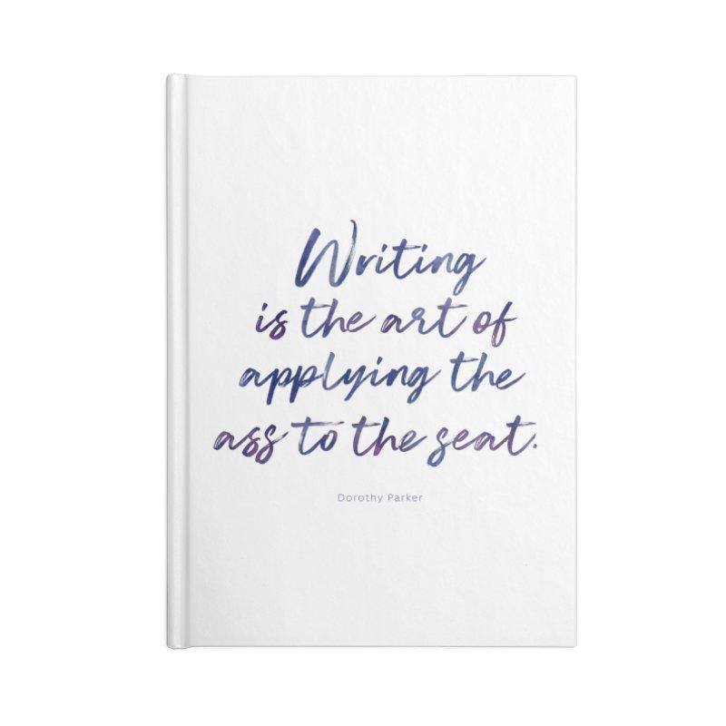 The Art Of Writing Accessories Blank Journal Notebook by Brett Jordan's Artist Shop