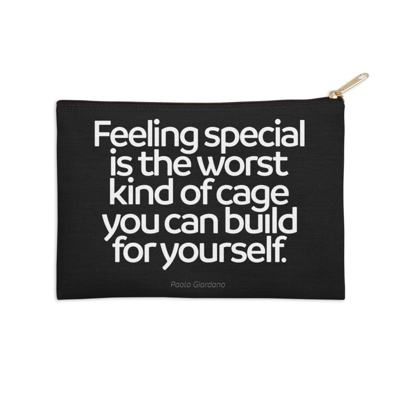 Feeling Special Is The Worst Kind Of Cage Accessories Zip Pouch by Brett Jordan's Artist Shop