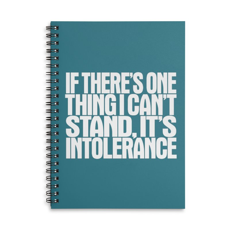 If there's one thing I can't stand... Accessories Notebook by Brett Jordan's Artist Shop