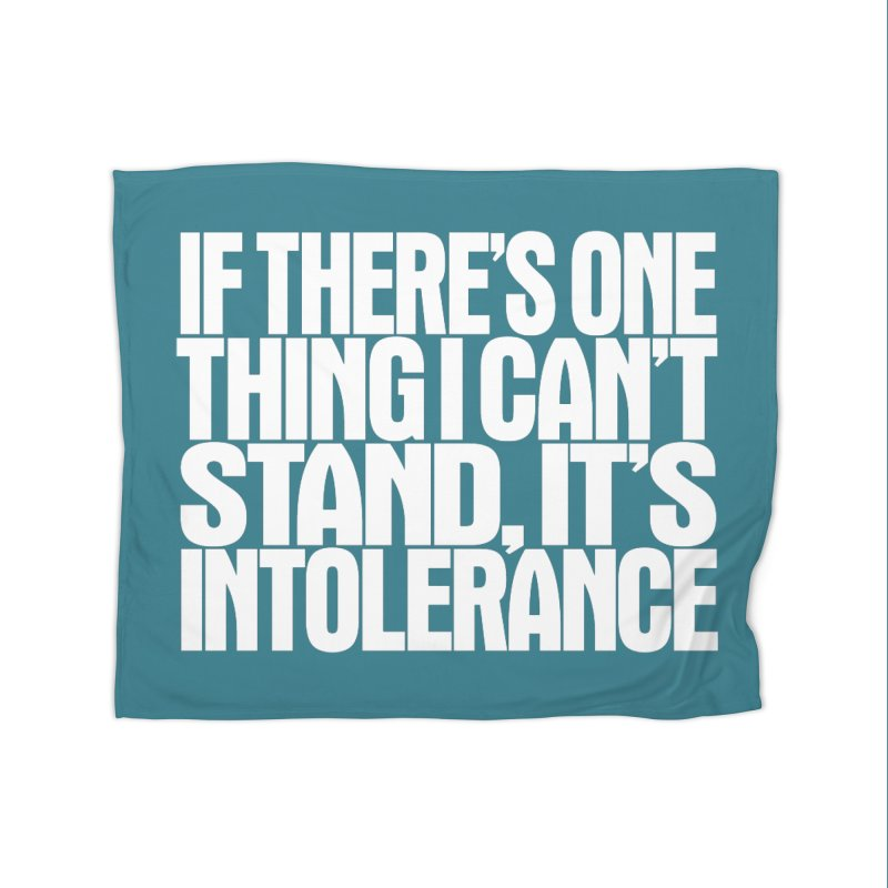 If there's one thing I can't stand... Home Fleece Blanket Blanket by Brett Jordan's Artist Shop