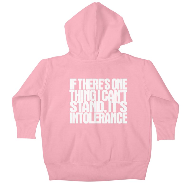 If there's one thing I can't stand... Kids Baby Zip-Up Hoody by Brett Jordan's Artist Shop
