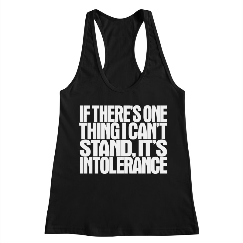 If there's one thing I can't stand... Women's Racerback Tank by Brett Jordan's Artist Shop