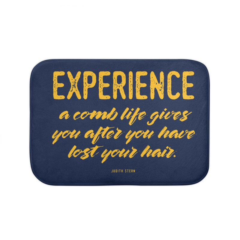 Experience Home Bath Mat by Brett Jordan's Artist Shop