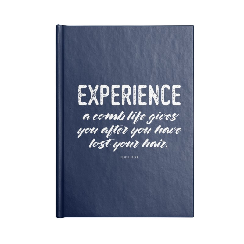 Experience Accessories Blank Journal Notebook by Brett Jordan's Artist Shop