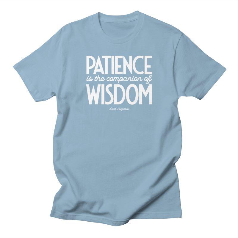 Patience is the companion of wisdom Women's T-Shirt by Brett Jordan's Artist Shop