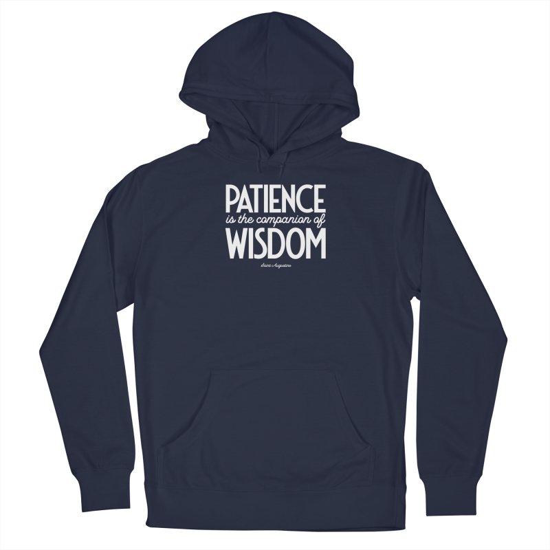 Patience is the companion of wisdom Men's Pullover Hoody by Brett Jordan's Artist Shop
