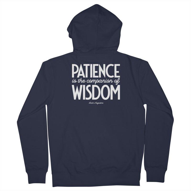 Patience is the companion of wisdom Women's Zip-Up Hoody by Brett Jordan's Artist Shop