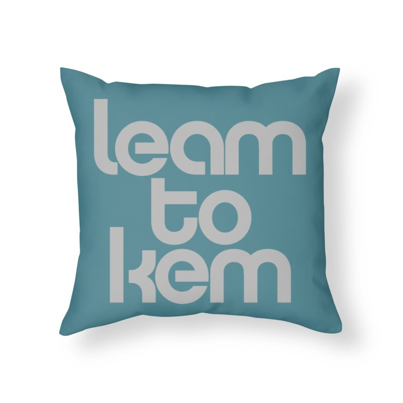 Learn to kern Home Throw Pillow by Brett Jordan's Artist Shop