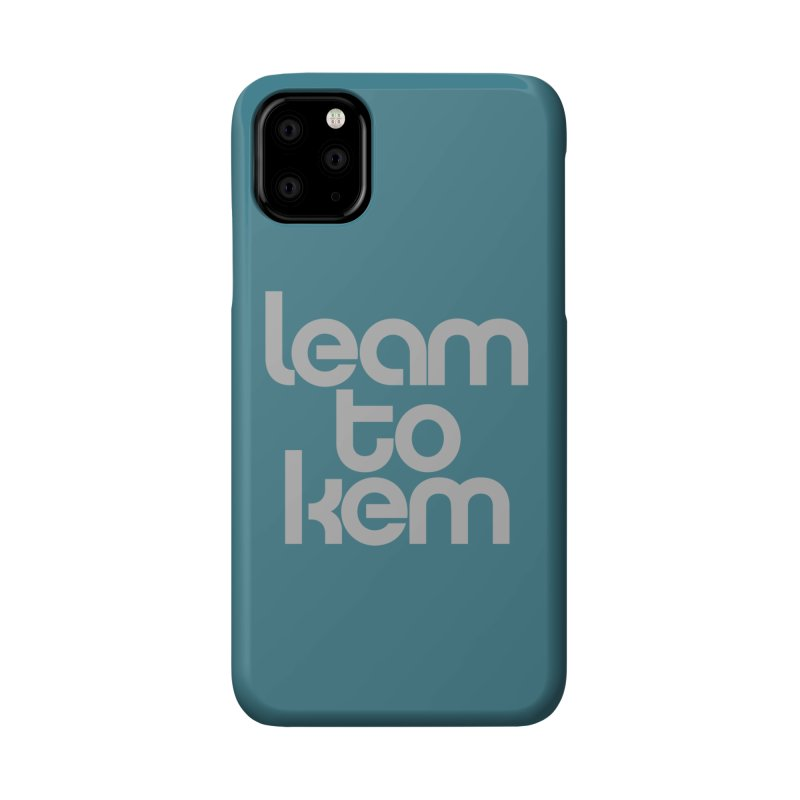 Learn to kern Accessories Phone Case by Brett Jordan's Artist Shop
