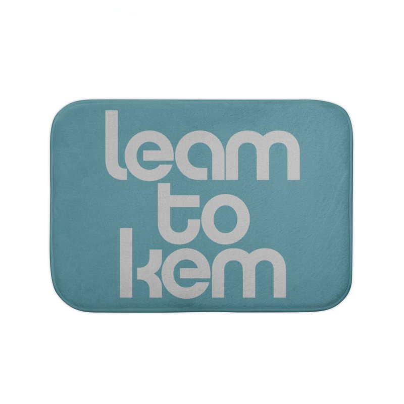 Learn to kern Home Bath Mat by Brett Jordan's Artist Shop