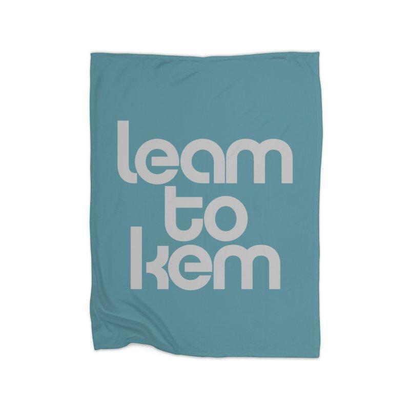 Learn to kern Home Fleece Blanket Blanket by Brett Jordan's Artist Shop