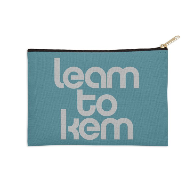 Learn to kern Accessories Zip Pouch by Brett Jordan's Artist Shop