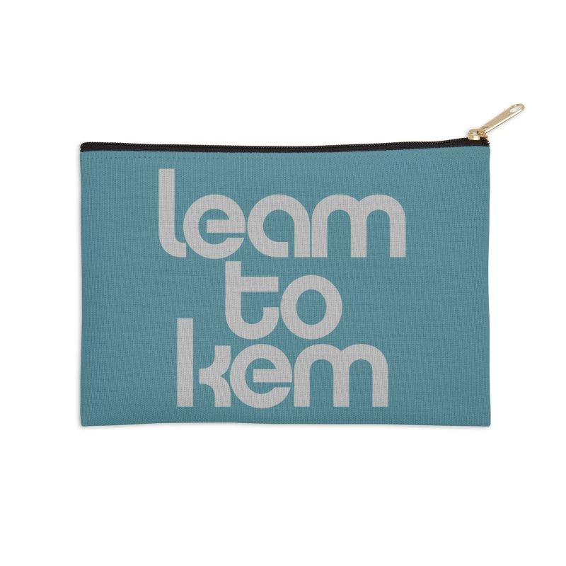 Learn to kern Accessories Zip Pouch by Brett Jordan's Artist Shop