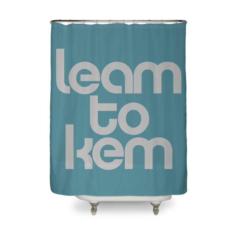 Learn to kern Home Shower Curtain by Brett Jordan's Artist Shop