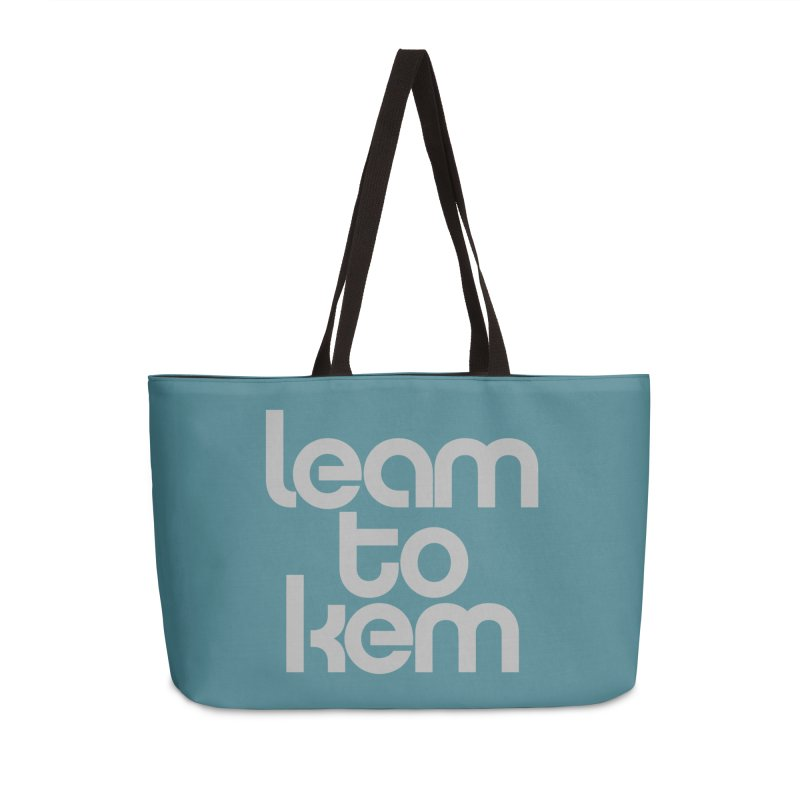 Learn to kern Accessories Weekender Bag Bag by Brett Jordan's Artist Shop