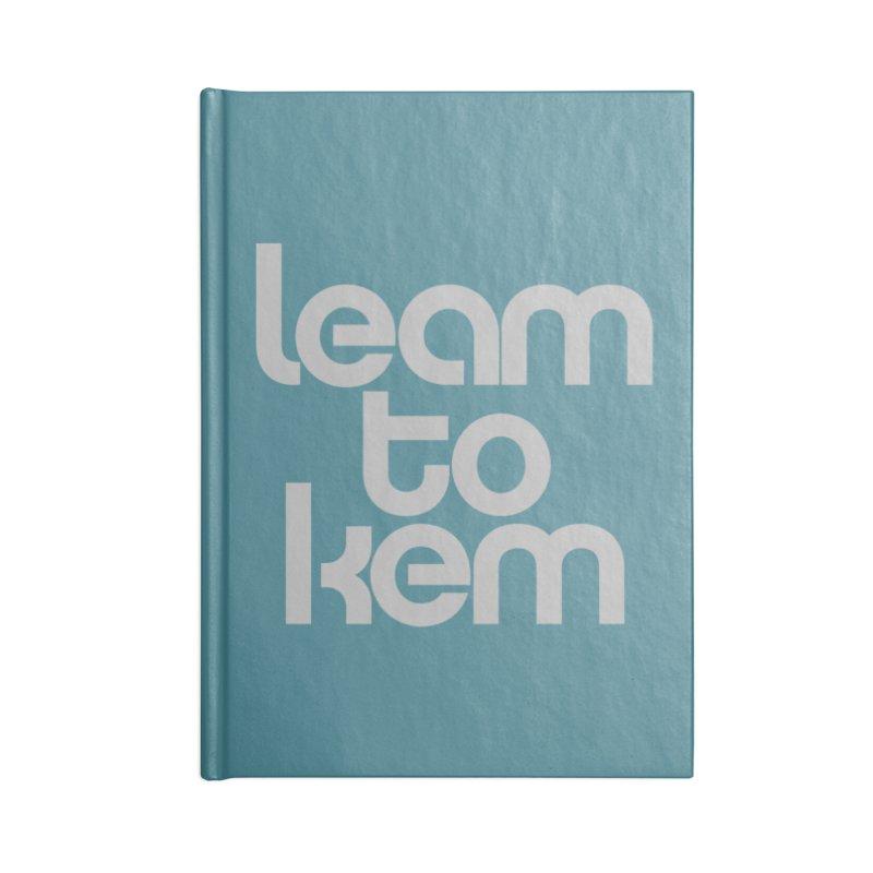 Learn to kern Accessories Blank Journal Notebook by Brett Jordan's Artist Shop