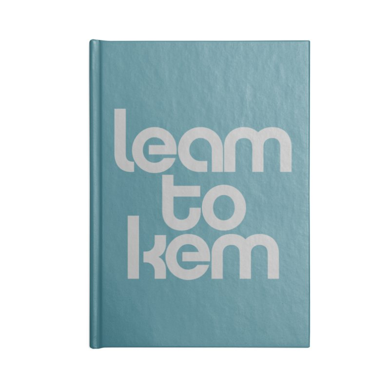 Learn to kern Accessories Notebook by Brett Jordan's Artist Shop