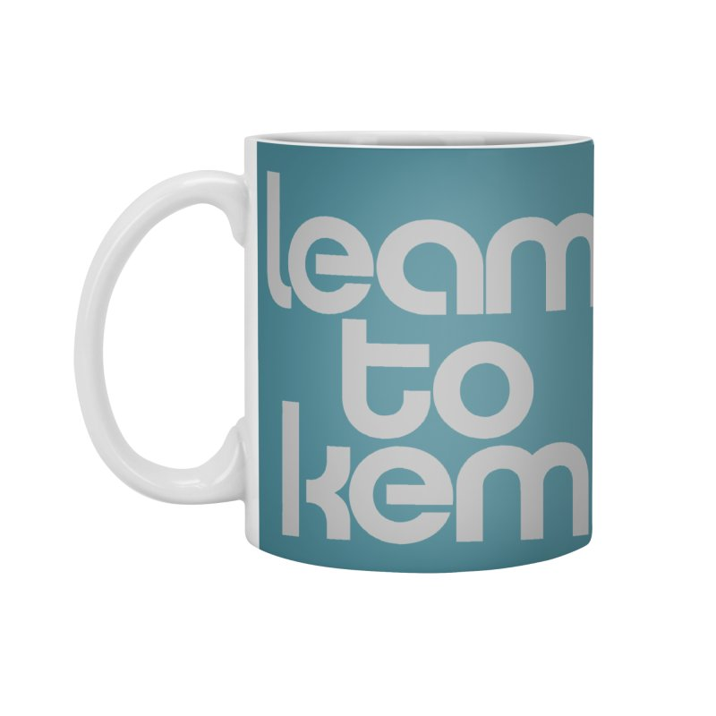 Learn to kern Accessories Standard Mug by Brett Jordan's Artist Shop