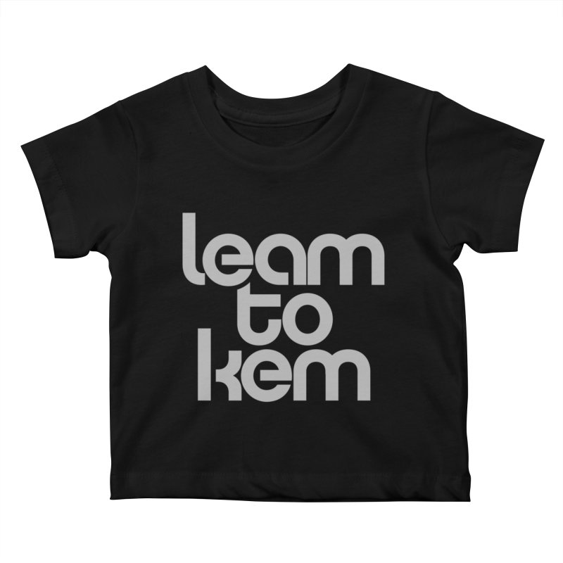 Learn to kern Kids Baby T-Shirt by Brett Jordan's Artist Shop