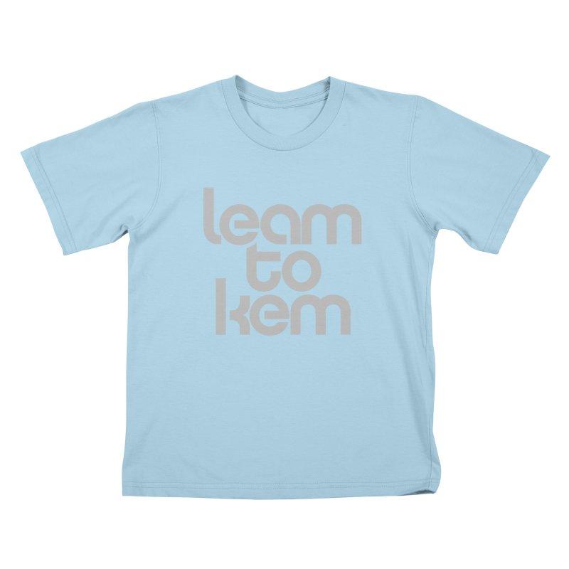 Learn to kern Kids T-Shirt by Brett Jordan's Artist Shop