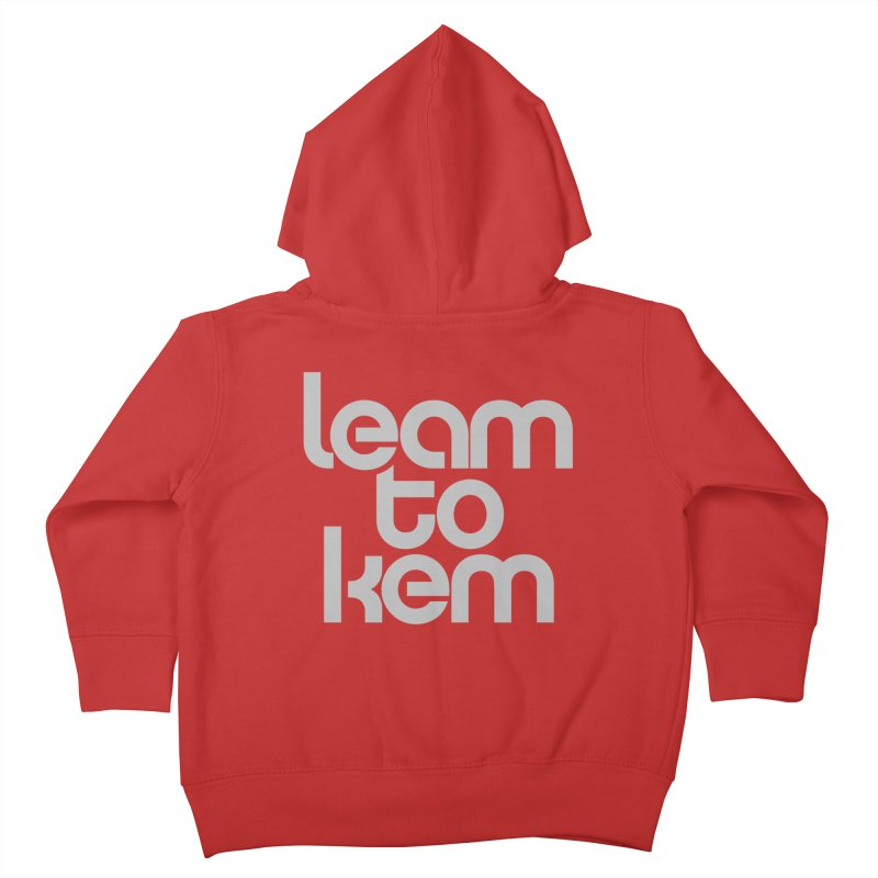 Learn to kern Kids Toddler Zip-Up Hoody by Brett Jordan's Artist Shop