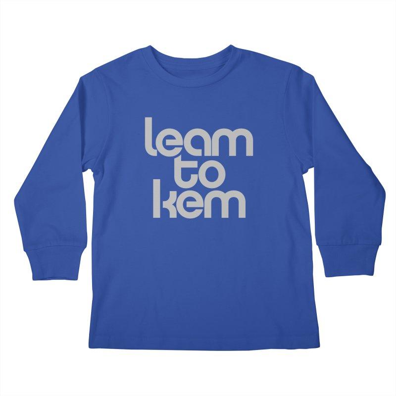 Learn to kern Kids Longsleeve T-Shirt by Brett Jordan's Artist Shop