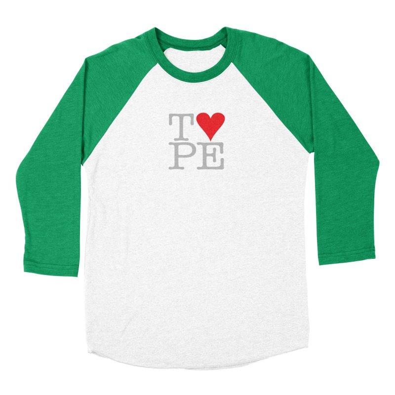 I Love Type Women's Longsleeve T-Shirt by Brett Jordan's Artist Shop