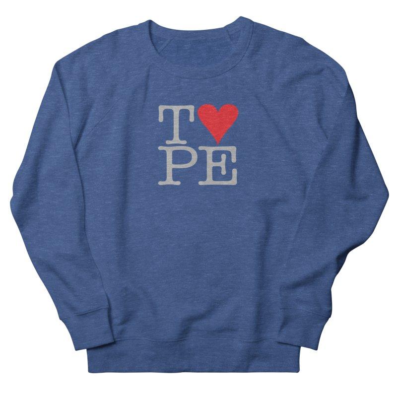 I Love Type Men's Sweatshirt by Brett Jordan's Artist Shop