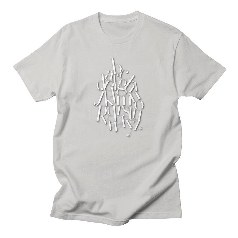 Didot Alphabet Men's T-Shirt by Brett Jordan's Artist Shop