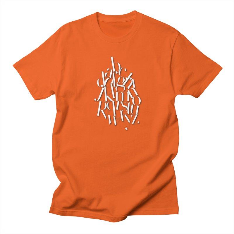 Didot Alphabet Men's Regular T-Shirt by Brett Jordan's Artist Shop