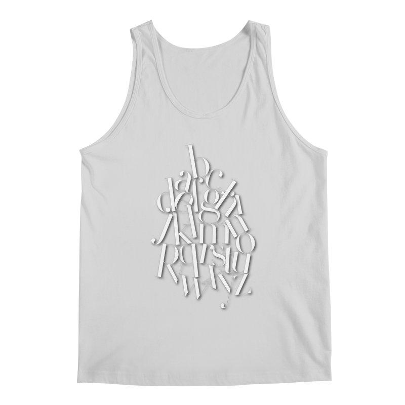 Didot Alphabet Men's Tank by Brett Jordan's Artist Shop