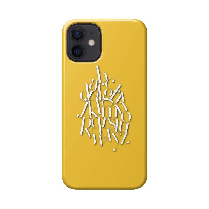 Didot Alphabet Accessories Phone Case by Brett Jordan's Artist Shop