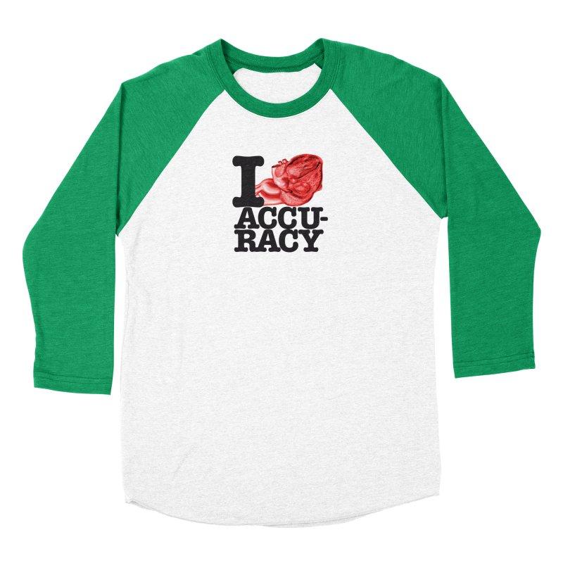 I Heart Accuracy Men's Longsleeve T-Shirt by Brett Jordan's Artist Shop