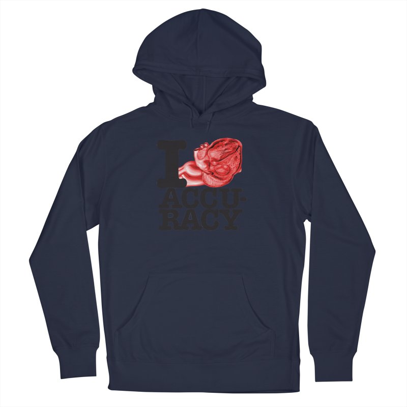 I Heart Accuracy Women's French Terry Pullover Hoody by Brett Jordan's Artist Shop