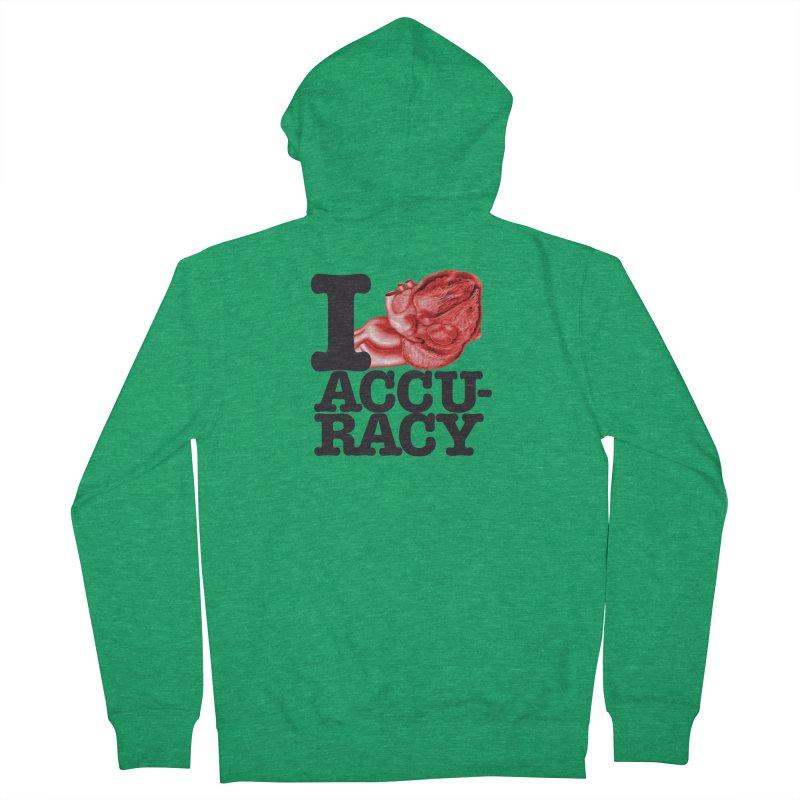 I Heart Accuracy Women's Zip-Up Hoody by Brett Jordan's Artist Shop