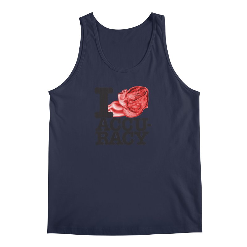 I Heart Accuracy Men's Regular Tank by Brett Jordan's Artist Shop