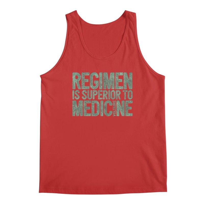 Regimen is superior to medicine Men's Regular Tank by Brett Jordan's Artist Shop