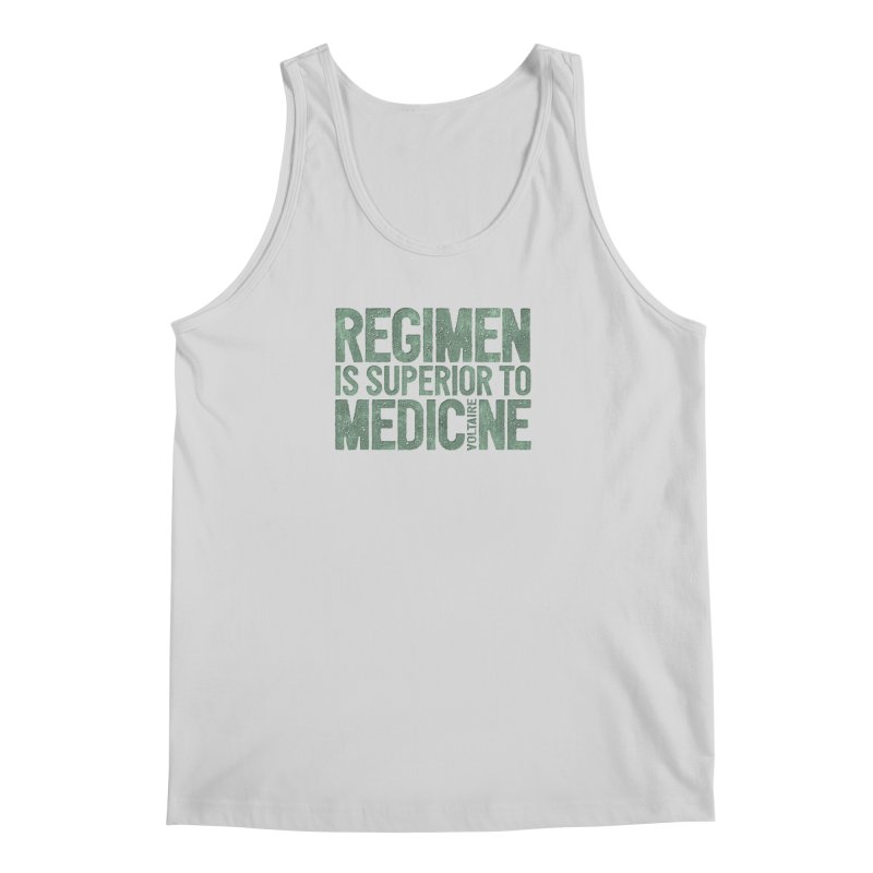 Regimen is superior to medicine Men's Regular Tank by Brett Jordan's Artist Shop